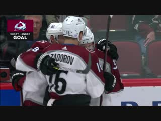 Compher Scores Two On The Same Penalty Kill