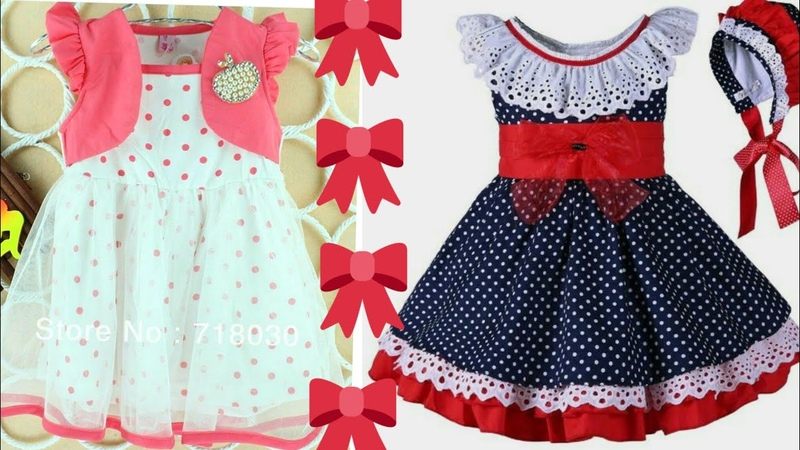 Latest Top Stylish Kids Cotton Frocks Designs Ideas Easy To Make At Home