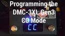 Programming the DMC-3XL Gen3 CC Mode