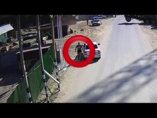 Появилось ПОЛНОЕ ВИДЕО драки, перестрелки и конфликта на переправе на Лесобазе с участием полицейских и работников переправы!