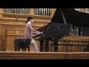 Александра Довгань, 3 класс ЦМШ (9 лет), репетиция в БЗК, 23.01.2017
