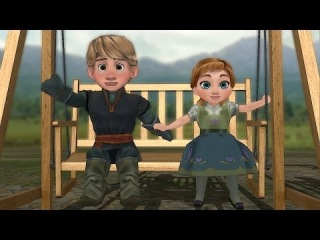 Do You wanna play with me? Elsa & Anna Kids Episode 1 Frozen Princess Play D...