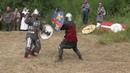 Исторический средневековой бой.