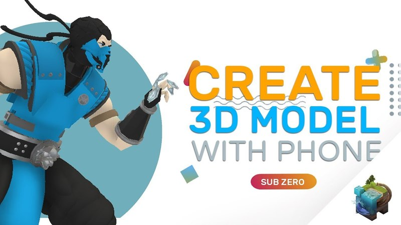 CREATE (3D) SUB ZERO WITH PHONE! : ASSEMBLR