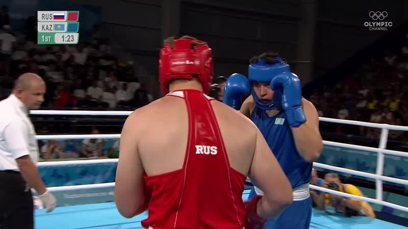 Finals YOG 91kg Dronov (RUS) vs Toibay (KAZ)