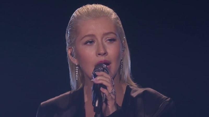 Christina Aguilera I Will Always Love You Video Live