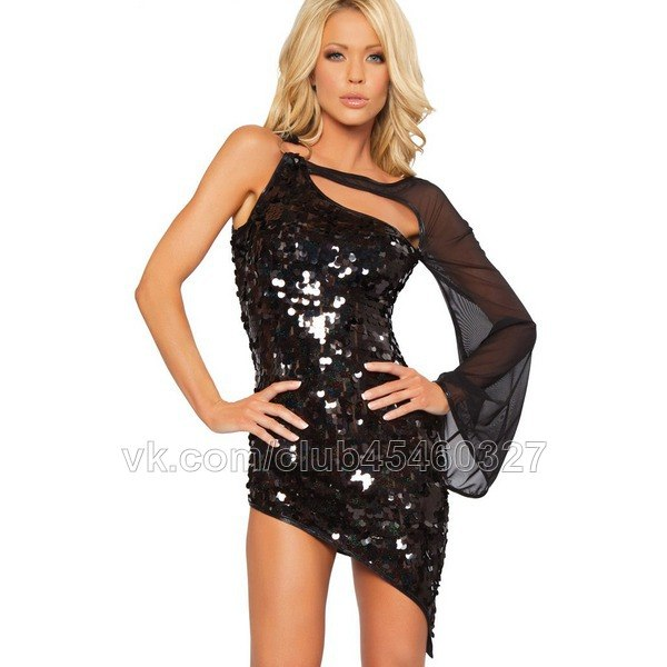 Платье сине черное доставка