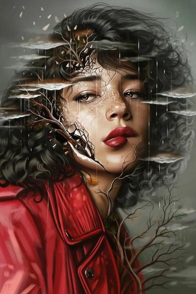 Странная завораживающая красота в работах турецкого художника Айкута Айдогду.