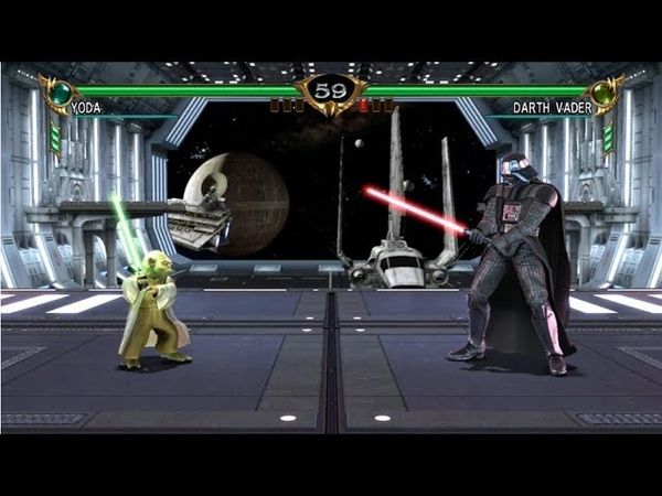 Soul Calibur IV Yoda Vs Darth Vader