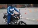 Экзамен по вождению мототранспортных средств категории А
