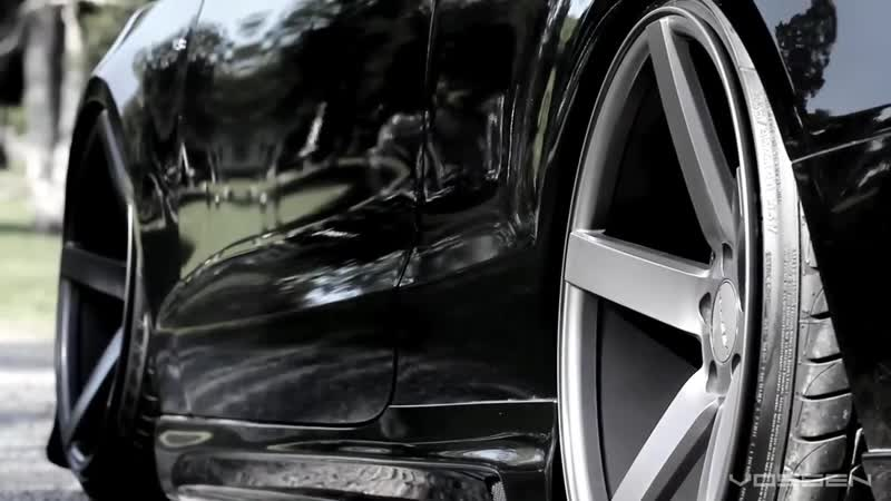 Audi S5 Bagged on 20 Vossen VVS-CV3 Concave Wheels _ Rims