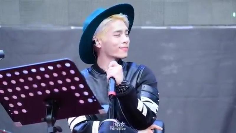 150919 Healing story by Jonghyun Guerilla concert