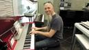 Jordan Rudess at Yamaha Music store Ginza Tokyo Japan