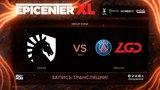 Liquid vs PSG.LGD, EPICENTER XL, game 1 [Maelstorm, Jam]