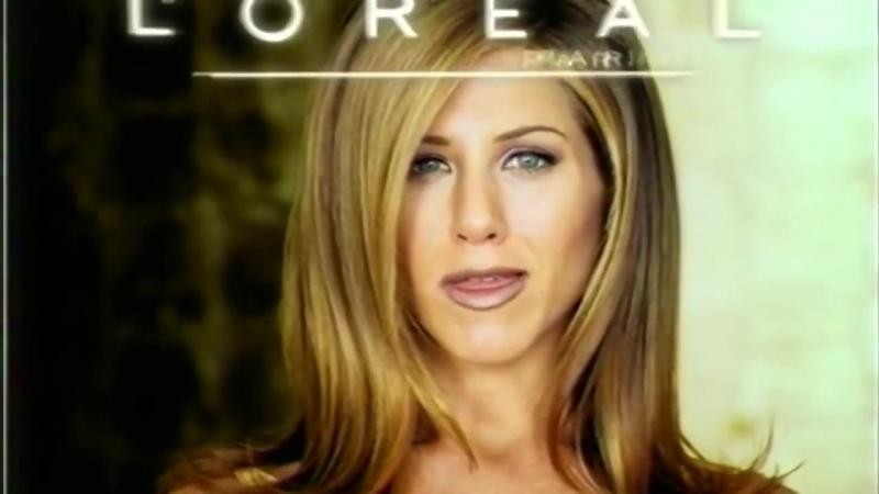 Loreal Jennifer Aniston Advert