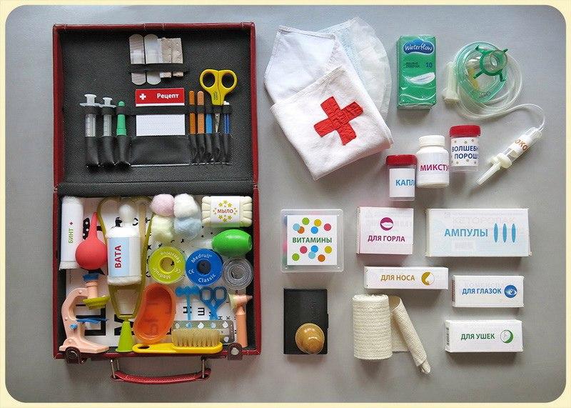 Как сделать для ребёнка больницу своими руками