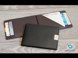 Бумажник Dun c RFID защитой с кимминг защитой