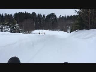 Тест скоростного спуска 2
