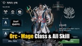 Lineage 2 Revolution Orc Mage Class &amp All Skill Translate
