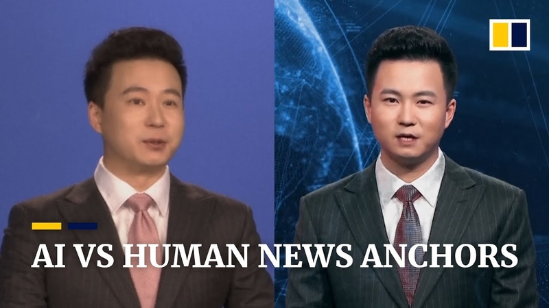 Meet the real-life news presenter behind the world's first AI anchor