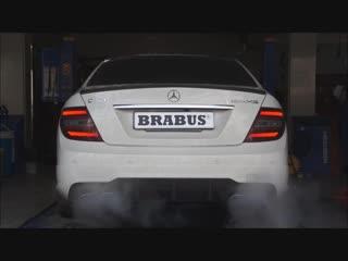 BRABUS valve controlled exhaust for C63 AMG _ BRABUS Klappenauspuff für C63 AMG