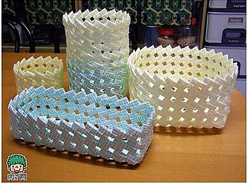 Плетеные корзиночки из