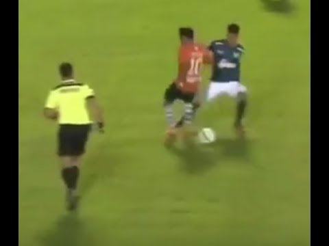Los lujos de Fábio Álvarez de Atlético Tucumán. Sombrero y 2 caños. En el Ranking Lírico.