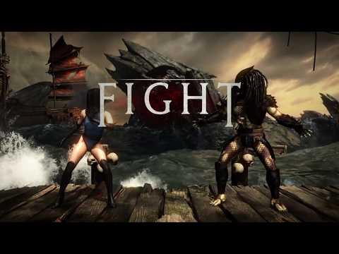 Mortal Kombat XL PS4. Kitana.