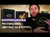 РАСПАКОВКА КОЛЛЕКЦИОНКИ WORLD OF WARCRAFT: BATTLE FOR AZEROTH