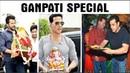 """Bollywood Stars Celebrates Ganesh Chaturthi"""" Shilpa Shetty Poonam Pandey"""