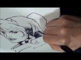 Mark Brooks drawing Rogue