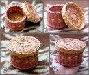 Плетеная мебель из лозы.