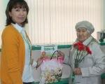 Калмыцкий филиал Россельхозбанка провел акцию, приуроченную к празднованию Международного дня пожилых людей