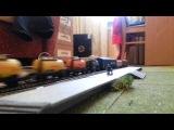 Макет железной дороги 1:120 тт