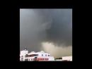 Мощный шквал Downburst в Тюмени 23 08 2018