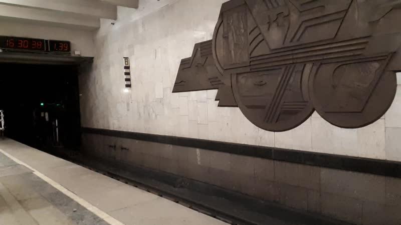 Народный Ополченец отправляется со ст. Домодедовская