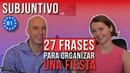 27 frases para organizar una fiesta de Navidad B1 subjuntivo español