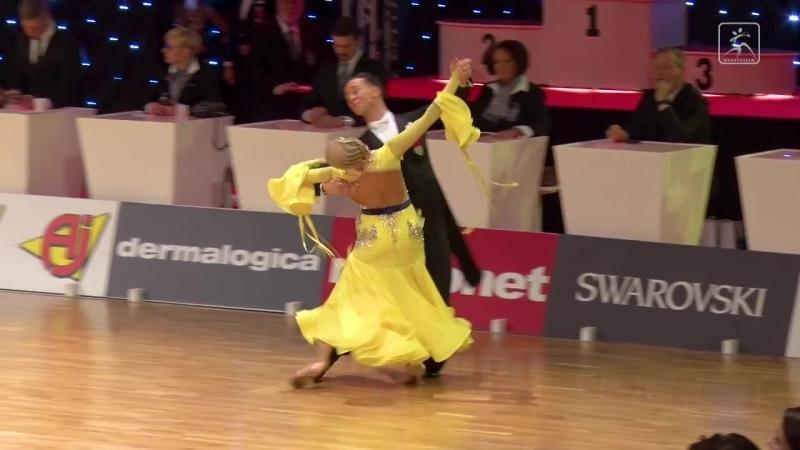 Evgeny Moshenin - Dana Spitsyna RUS _ Finnish Open 2018 _ SF