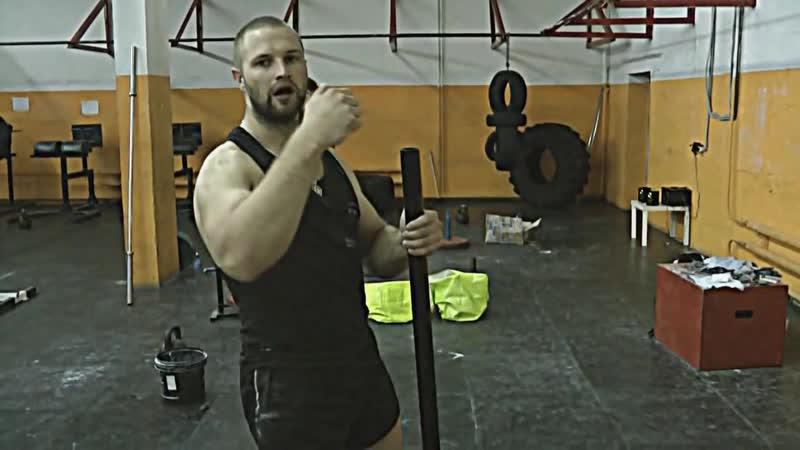Техника сгибания железа- Double Overhand. Часть 1 (видео с канала Iron Grip Certs)