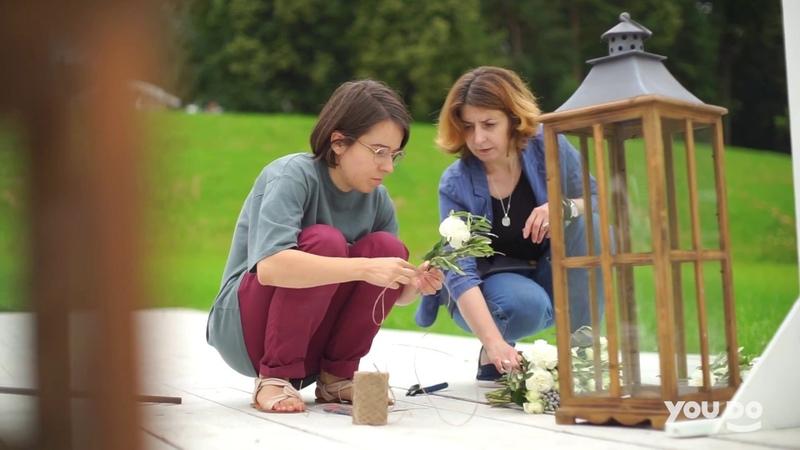 ОФОРМЛЕНИЕ СВАДЬБЫ Как красиво оформить летнюю свадьбу Карина о своем салоне декора и помощниках