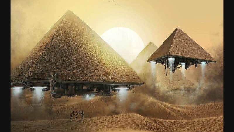 Bjorn Akesson Painting Pyramids