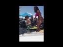Kid dancing on boat to 21 Savage Bank Account (Original)