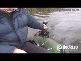 Лодочный электромотор на воде от ilodki.ru