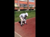 Станислав Вашев - Комплекс CrossFit лестница махи гири/отжимания