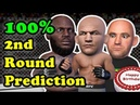 Junior dos Santos TKOs Derrick Lewis as he predicted in the 2nd round