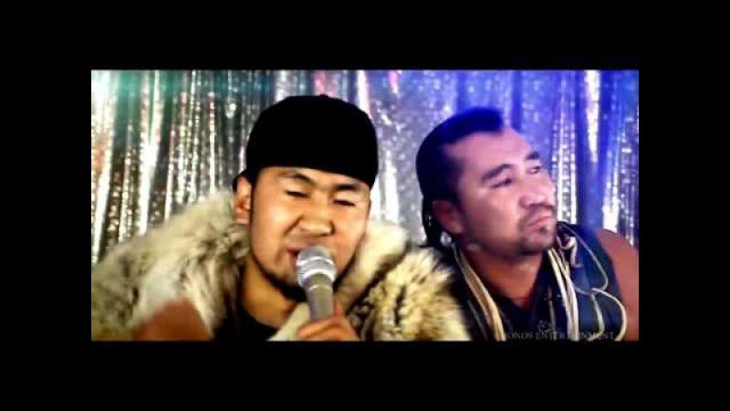 Монгольская музыка рэп в стиле горлового пения 'Fish Symboled Stamp'