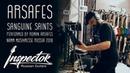 Arsafes - Sanguine Saints (Live @ Inspector Guitars Booth, Namm Musikmesse Russia 2018)