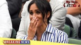 Meghan Markle seems to be crying after Serena Williams loses Wimbledon final