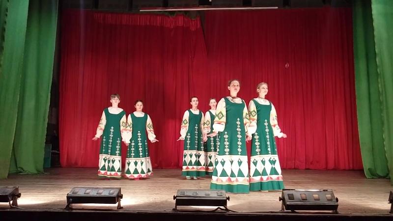 Русский хоровод . танцгруппа Вместе
