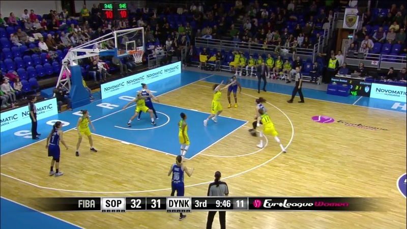 Dynamo Kursk with a 10 0 Run vs Uniqa Sopron 12 06 2018